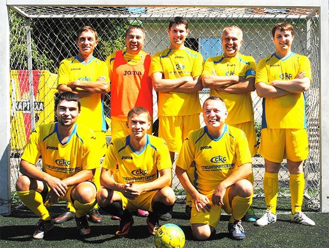 Футбольная команда СКС